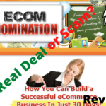 Is eCom domination a Scam? eCom Domination homepage
