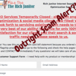Is Mike Dee and Rich Janitor a scam? Outright Scam alert?!