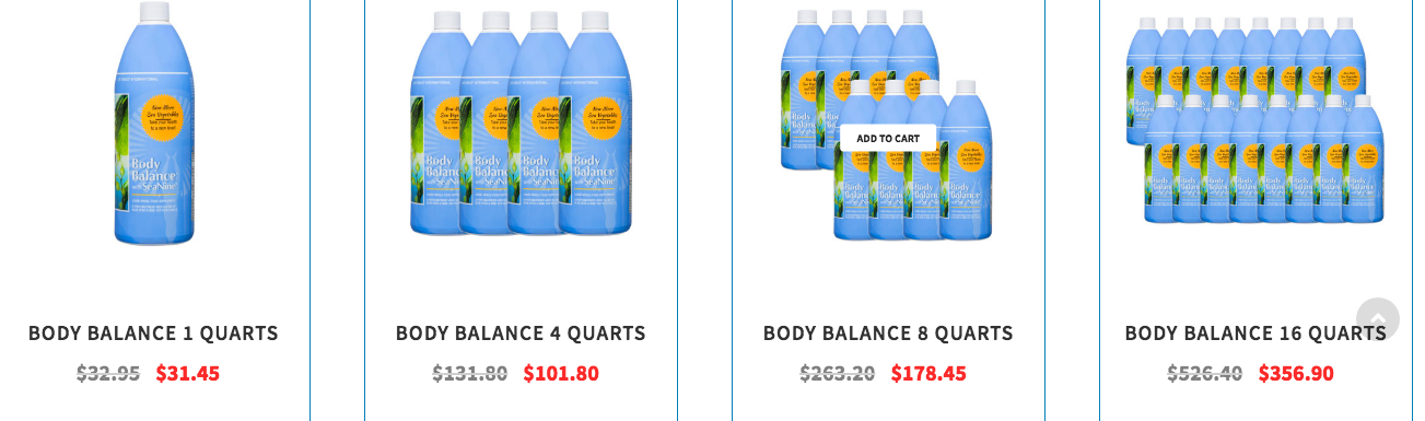 Life Force International product: Body Balance