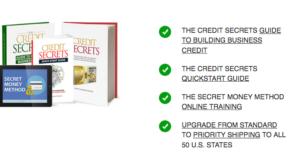 Credit Secrets Bonuses