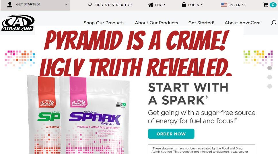 Is Advocare a pyramid scheme?