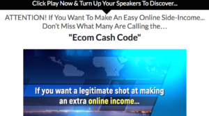 Is Ecom Cash Code a scam