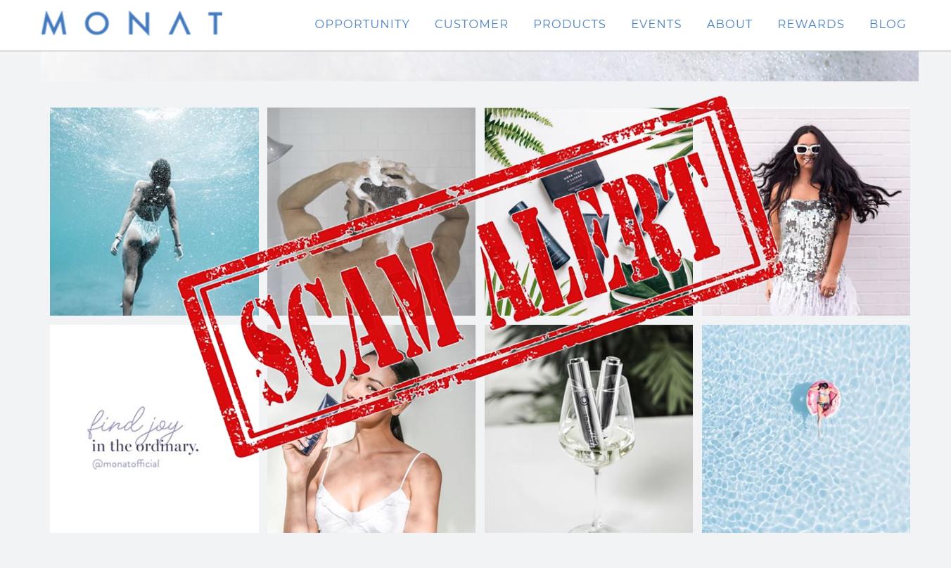 is Monat Global Scam
