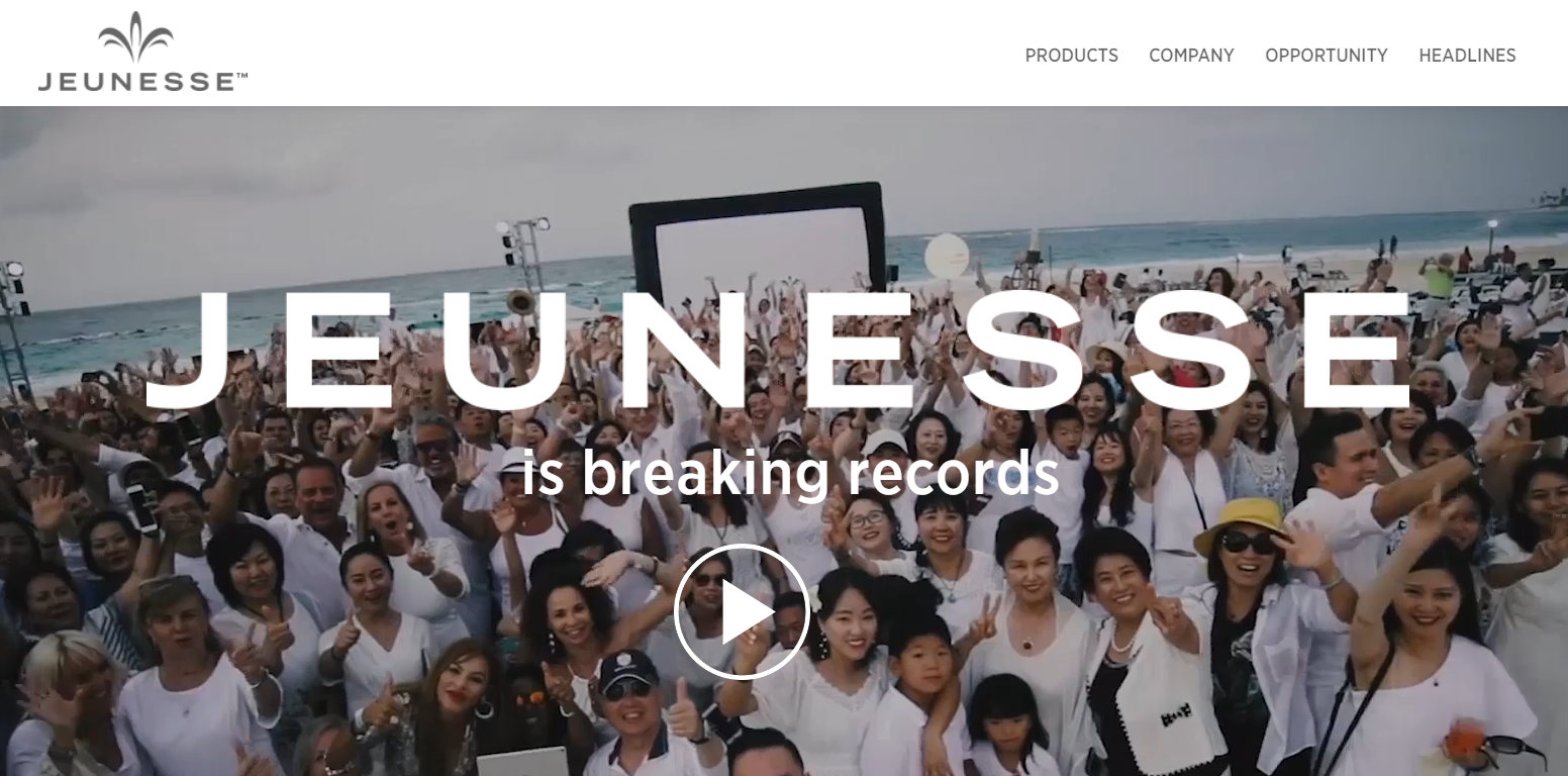 is jeunesse global a scam