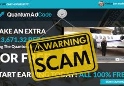 is quantum ad code scam