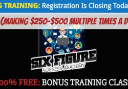Course Creation Six Figure Success Academy  For Sale New