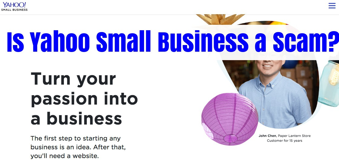 Is Yahoo Small Business a Scam? ( Not Really, but There's a