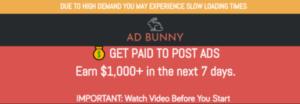 ad bunny scam