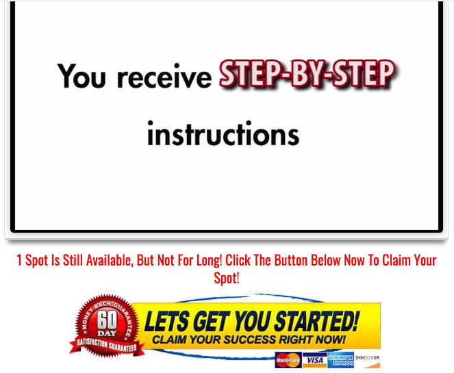 The Retire Millionaire step by step training