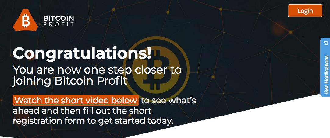 bitcoin profit member's area