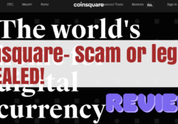 Is Coinsquare a scam?