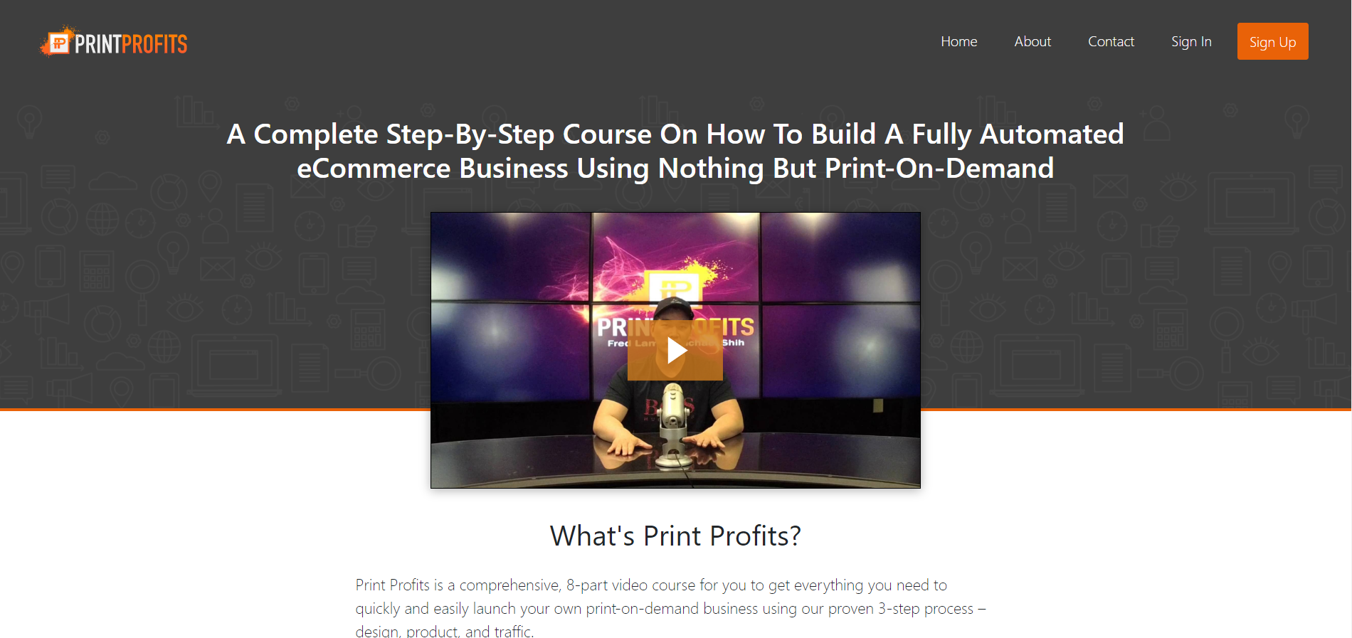 print profits scam