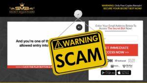 secret millionaire scam