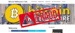 bitcoin millionaire club scam