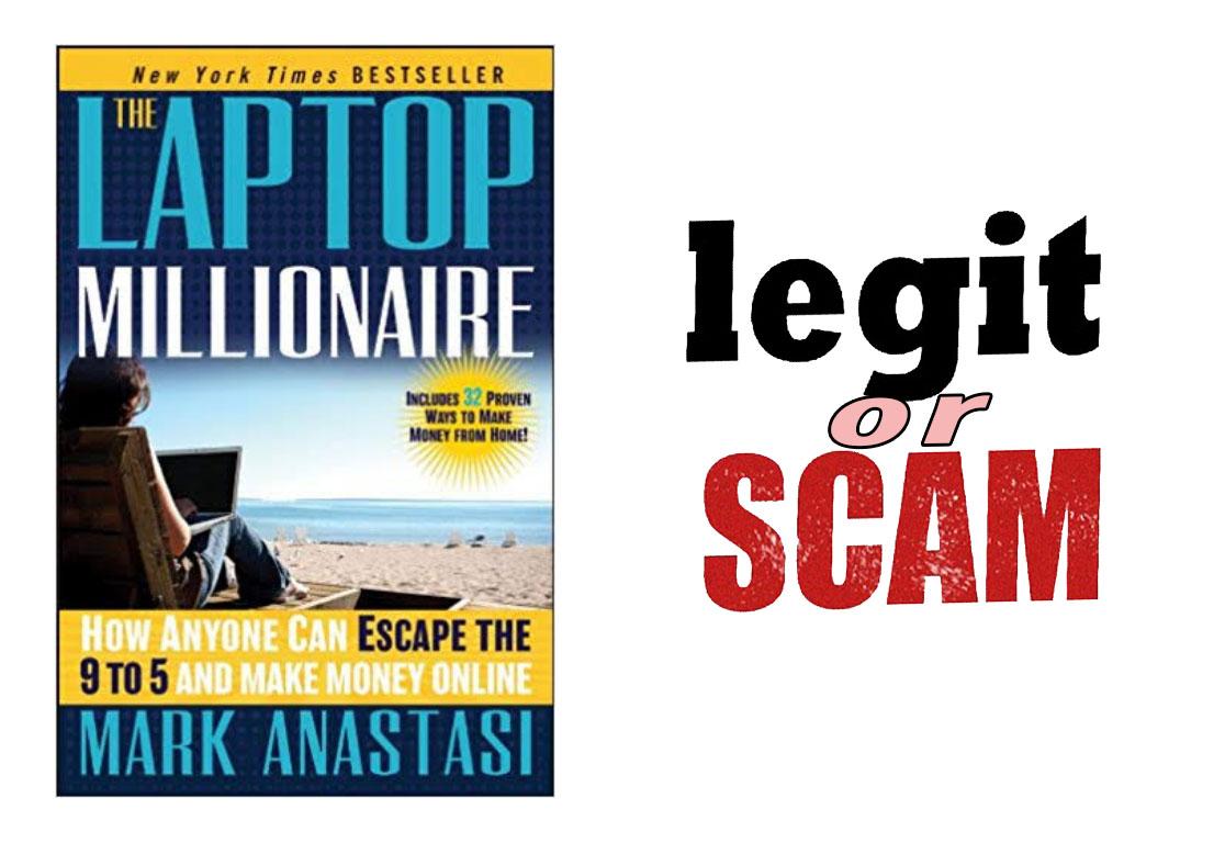 laptop millionaire scam