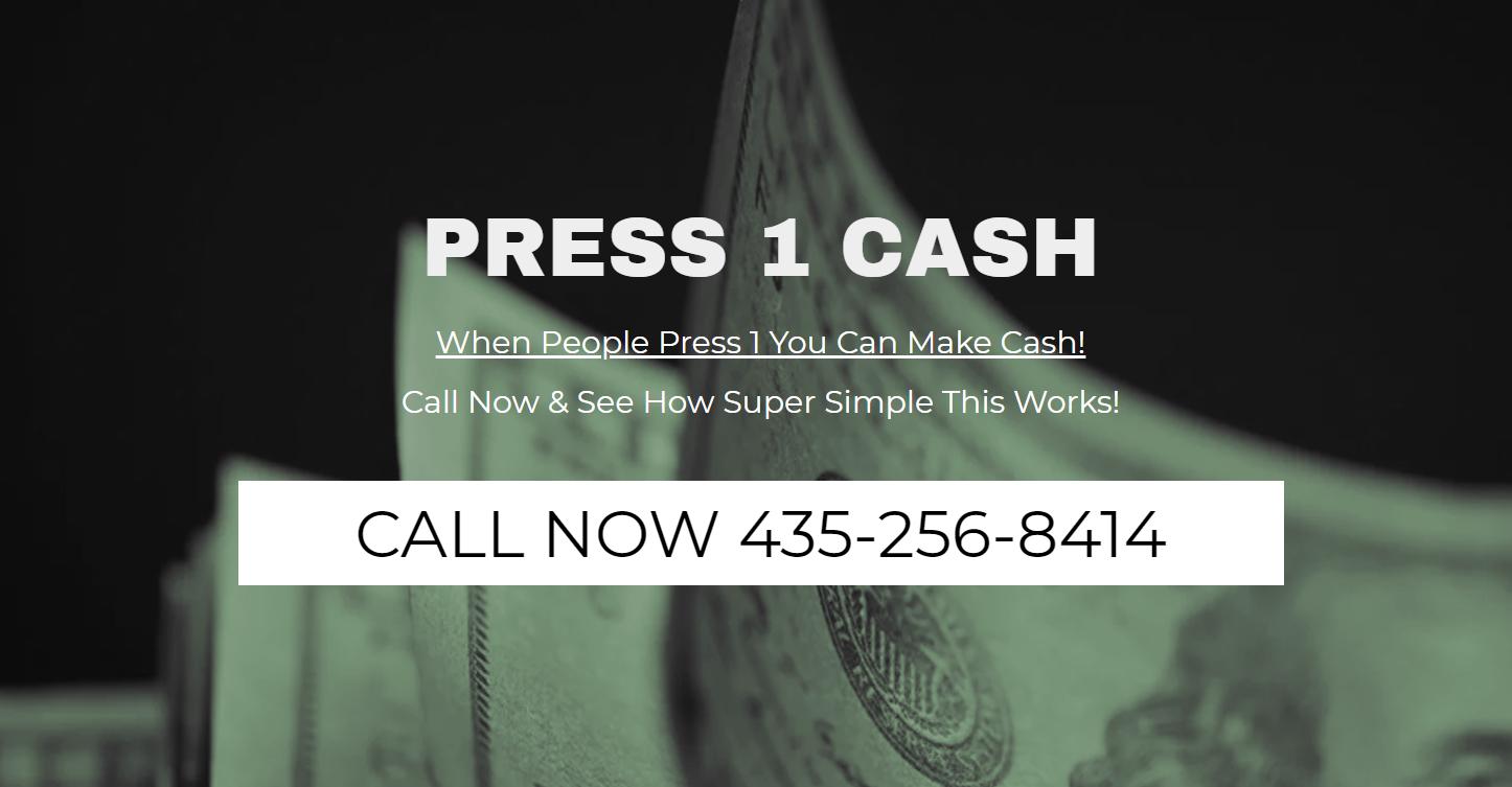 press 1 cash review