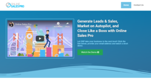 online sales pro scam