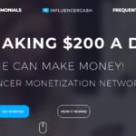 Is Influencer Cash a Scam? Influencer Cash Homepage