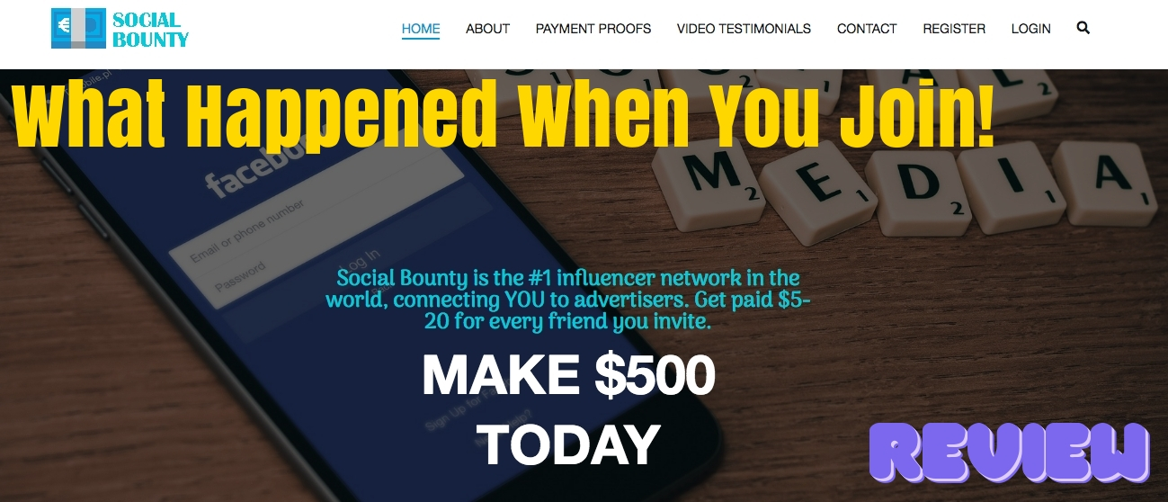 Social bounty review: What happened when you join!