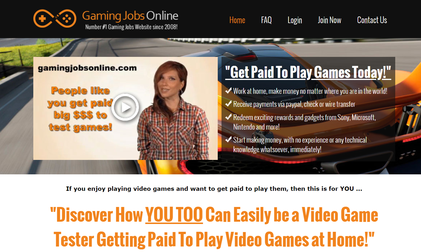 game jobs online review