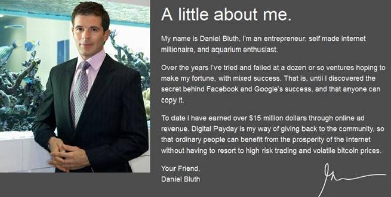 fake owner daniel bluth