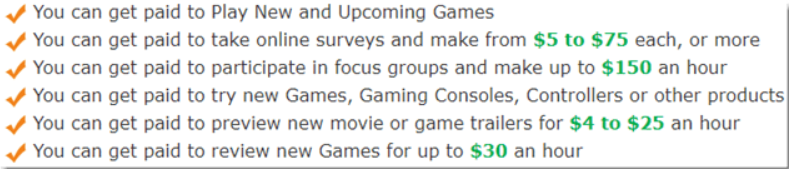 gaming jobs online pay rate