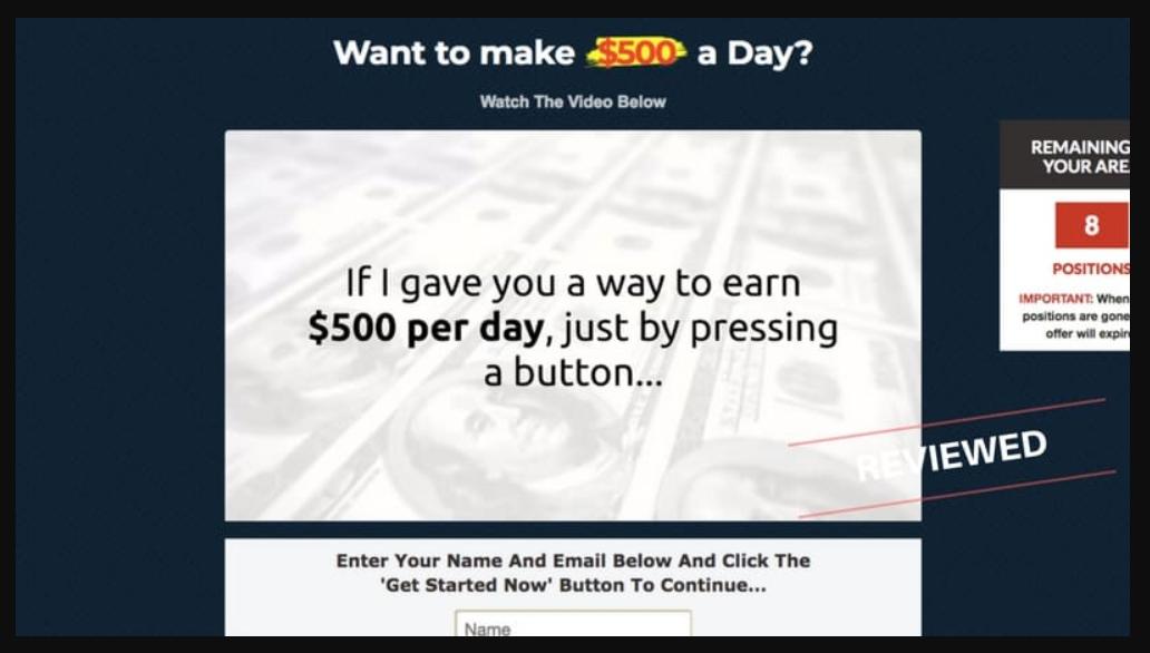 money sucking website review
