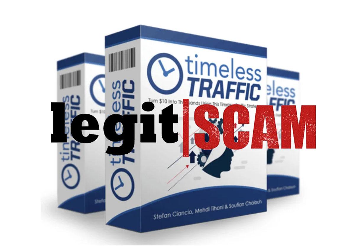 timeless traffic scam