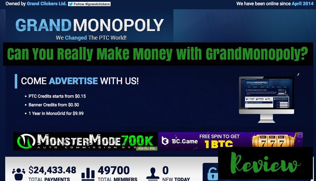 GrandMonopoly review- Can You Really Make Money with GrandMonopoly?