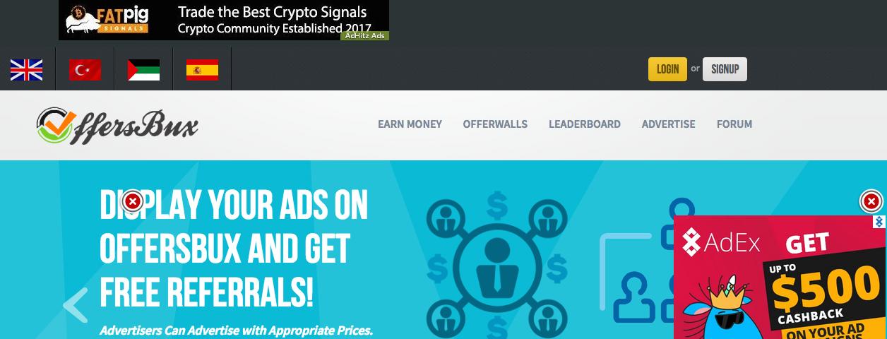 offerxbux homepage