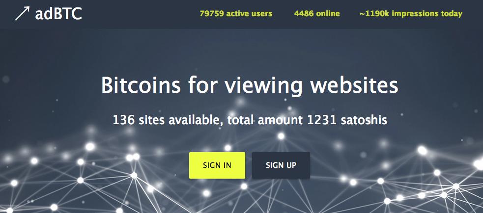 adbtc homepage
