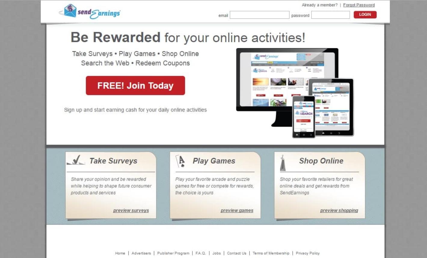send earnings review