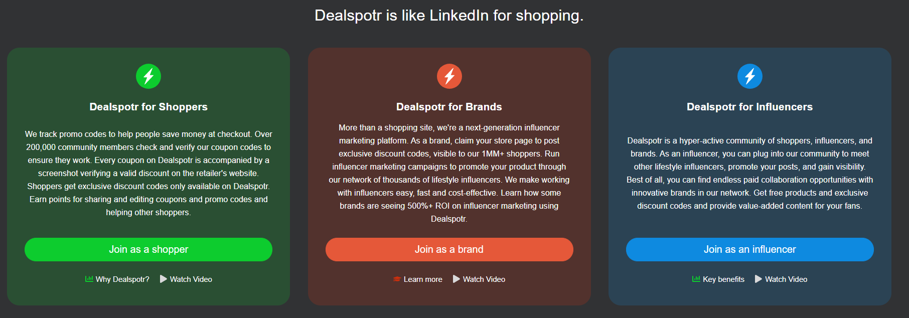 dealspotr deals