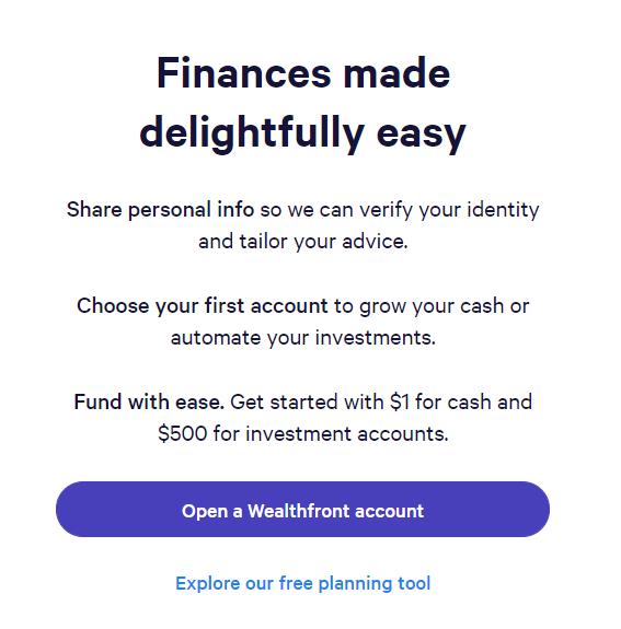 finances wealthfront