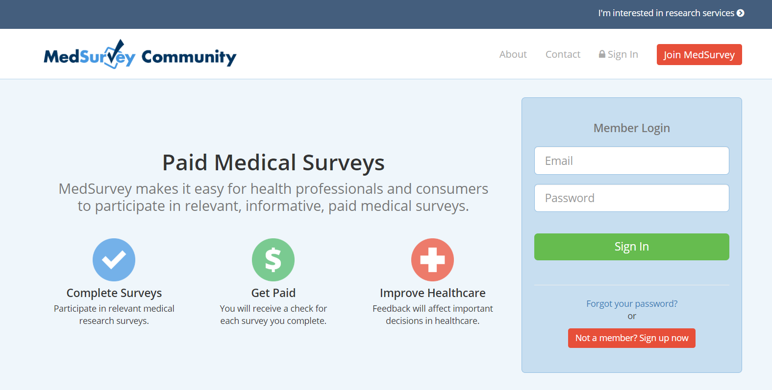 MedSurvey featured