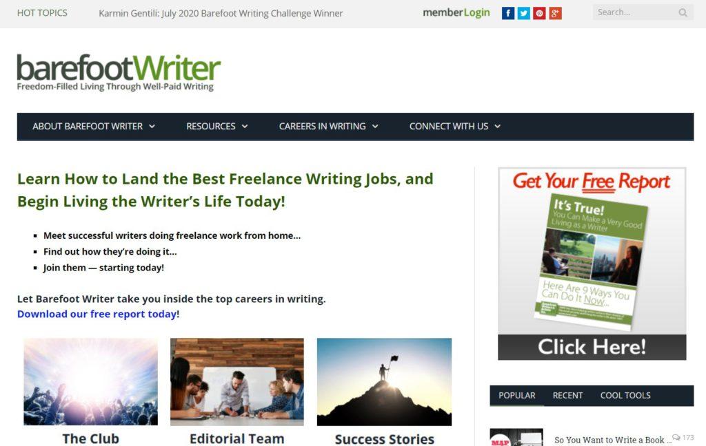 Barefoot Writer Club