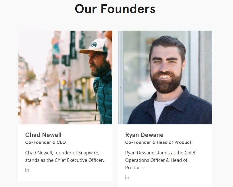 snapwire founders