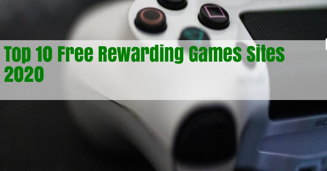 Top 10 Free Rewarding Games Sites Review