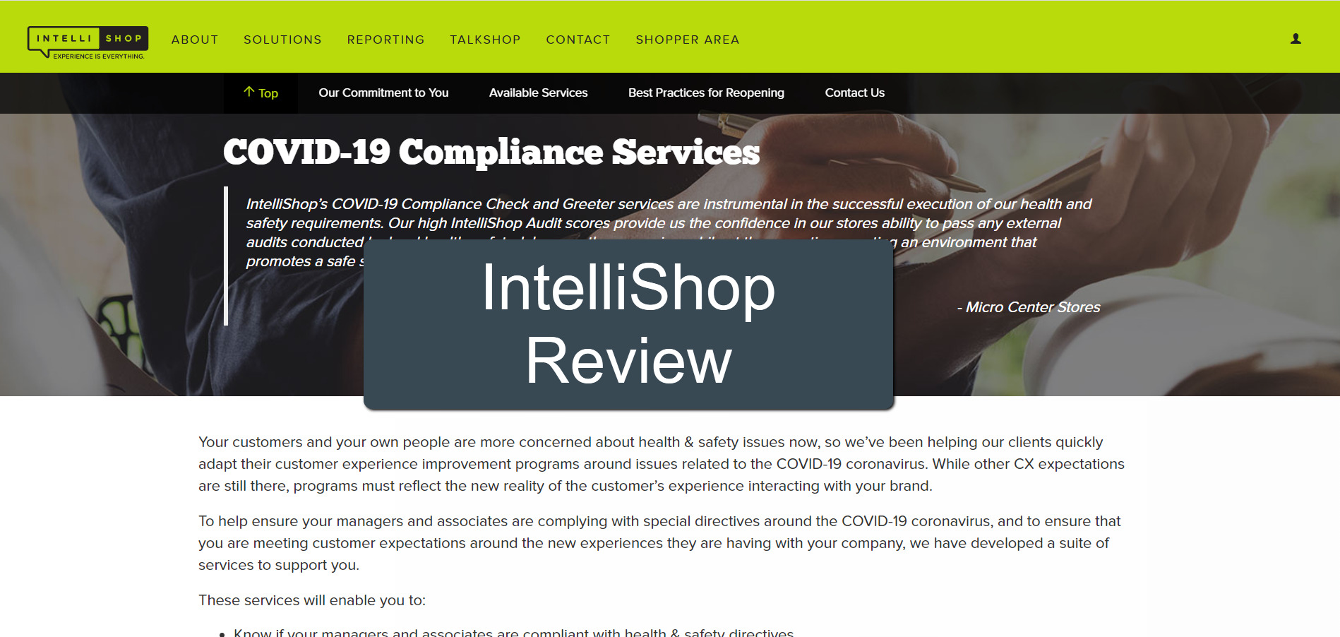 IntelliShop review - featured