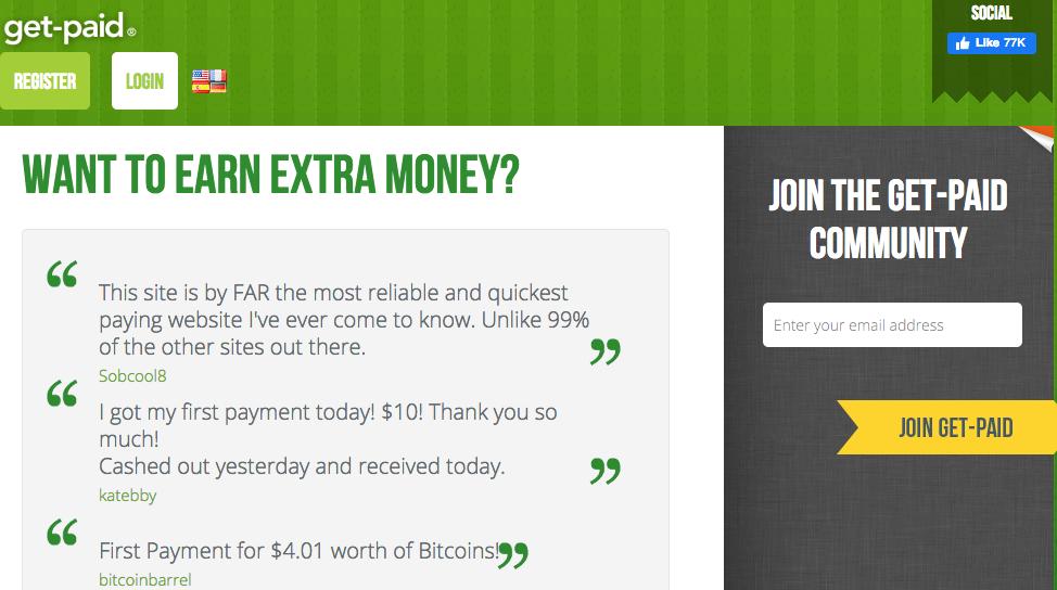 Get-Paid GPT Homepage
