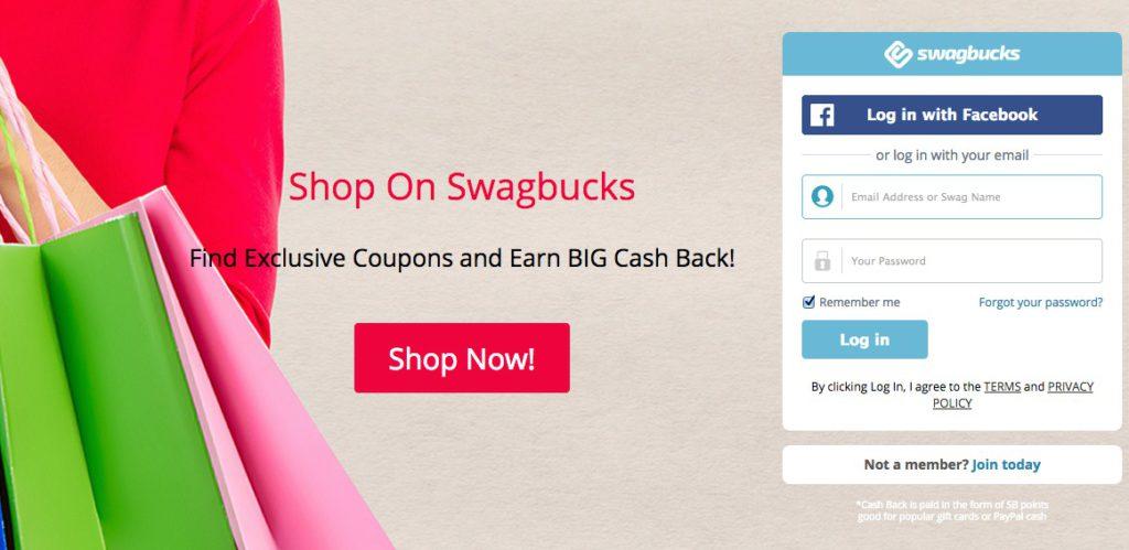 Swagbucks GPT Homepage