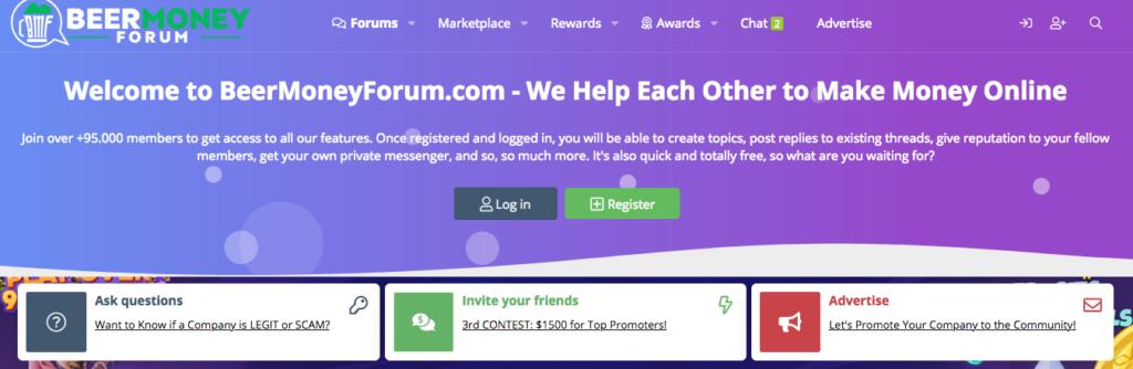 BeerMoneyForum GPT Homepage