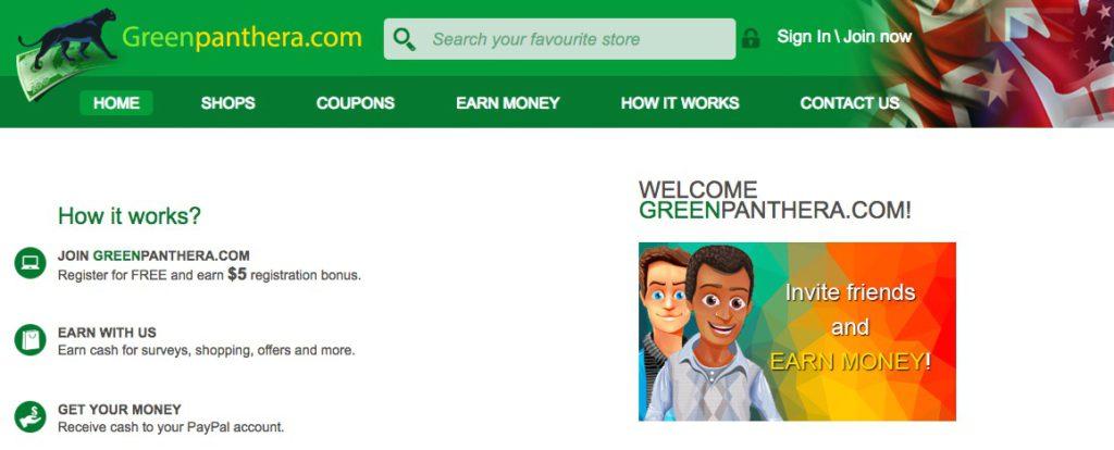 GreenPanthera Survey Homepage