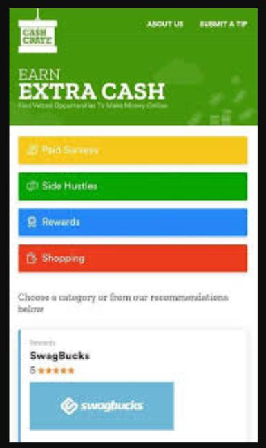 cashcrate register