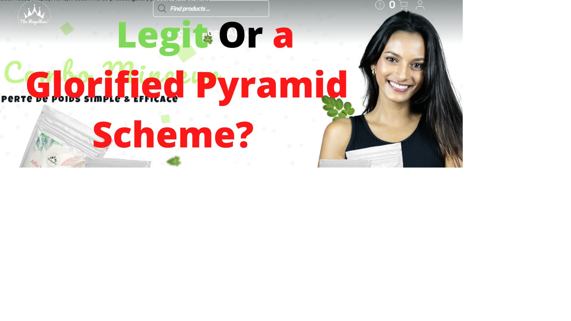 Legit Or a Glorified Pyramid Scheme
